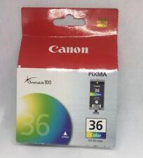 Canon Printer Authentic Pixma Cli-36 Colour Ink