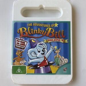 The Adventures of Blinky Bill - Volume 4 (DVD) Aust Region 4- NEW SEALED RARE