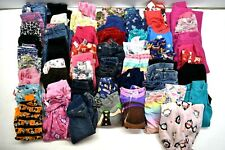 Lot of 60 Wholesale Mixed Brands Baby Girls 3T Various Bottoms Leggings Pants