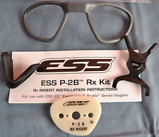 ESS P-2B Safety Glasses RX Insert (NVG/ICE/ICE Naro) 740-0309 - New