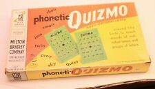 PHONETIC QUIZMO GAME BY MILTON BRADLEY Very Old 1957 EDITION COMPLETE