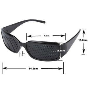 Eyesight Improvement Vision Care Pinhole Glasses Exercise Eyewear Training SPORT