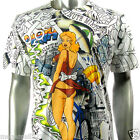 Minute Mirth T-Shirt Sz M L XL Tattoo Sexy Graffiti bmx Skate Board Vtg N40 D1