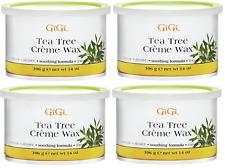 4X GiGi Tea Tree Creme Wax 14 oz / 396 gm - FAST Shipping