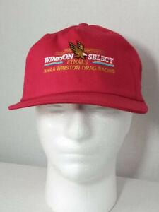 NOS Vintage NHRA Winston Select Finals Drag Racing Classic Golden Eagle Hat Cap