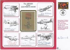 DM1e The Award of the Air Force Cross.Special Signed 7 AFC Holders Plus Pilot al