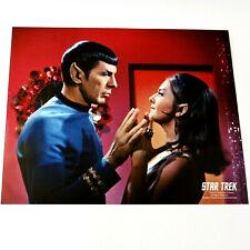 LEONARD NIMOY JOANNE LINVILLE Star Trek PHOTOGRAPH 8x10 TOS Enterprise Incident