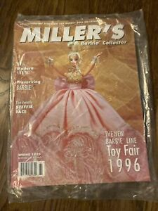 Miller's Fashion Doll Barbie Collector Magazine Spring 1996 NEW In Plastic Wrap!