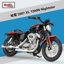 1:18 Maisto Harley Davidson 2007 XL1200N Nightster Bike Motorcycle Model Red