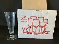 Vintage Set Of 6 Zwiesel Glas Crystal Pilsner Short Beer Glasses Germany #200