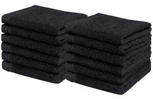 "Weidemans® Premium 12 Pcs Finger Tip / Wash Cloths Towels (13"" x 13"")"