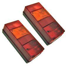 Large Rear Trailer Combination Lamp / Light PAIR TR050