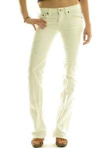 CHRISTIAN AUDIGIER Venice Luxury Designer Women's Bootcut Jeans