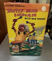 Vintage Nutty Mad Indian Toy Made by Louis Marx & Co. With Box