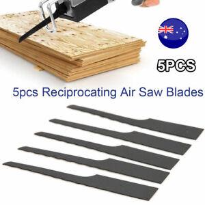 "5pcs 32T 1"" Bimetallic Reciprocating Air Saw Blades Cutting Hack Cut Off Tool AU"
