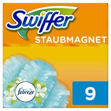 Swiffer Staubmagnet Nachfüllpack mit dem frischen Duft von Febreze (9 Tücher)