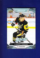 Sidney Crosby 2019-20 Upper Deck UD MVP Hockey #212 (MINT) Pittsburgh Penguins