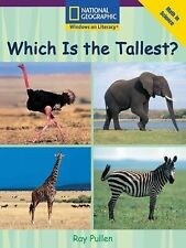 Windows on Literacy Early (Math: Math in Science): Which is the Tallest? (Langua