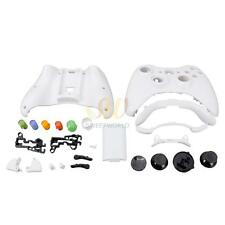 White Controller Case Shell Cover with Buttons Accessories for Microsoft Xbox360