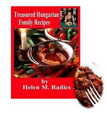 Valentine's SALE - Treasured Hungarian Family Recipes®1 English Lang. Cookbook