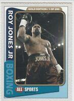 2003 ROY JONES JR. 1 OF 200 GOLD BOXING ROOKIE CARD RC MINT