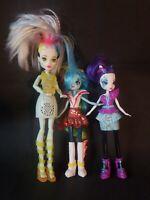 Mattel Monster High Electrified Frankie Stein Doll Light Up Sounds Lot 3 Dolls