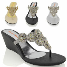 e73be30db31c19 Women s Bridal or Wedding Sandals and Flip Flops