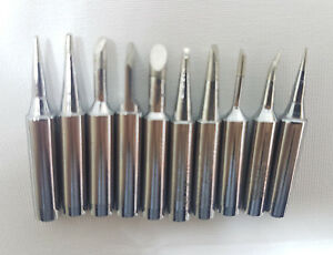10 Pack Solder Soldering Iron Tips Standard Size Accessories Electrical Parts
