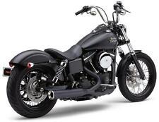 Cobra Black Powerpro HP 2:1 RPT Exhaust for 2006-2011 Harley Dyna Models 6469B