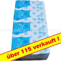 Toilettenpapier Tissue 64 Rollen x 250 Blatt 2-lagig