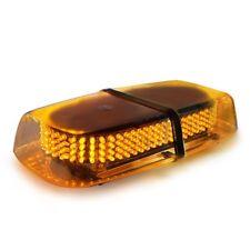 Xprite Amber Emergency Hazard Warning LED Mini Bar Strobe Light w/ Magnetic Base