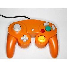 Nintendo GameCube Replacement Controller Orange Gamepad Wii Gamecube