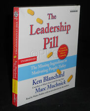 (Hard to find ! Out of print ) NEW CD The Leadership Pill Ken Blanchard