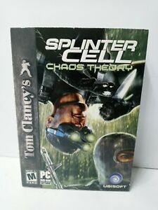 Tom Clancy's Splinter Cell: Chaos Theory PC CD-ROM  Sealed BOX NOT MINT