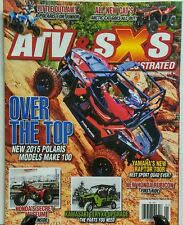 ATV & SXS Illustrated Vol 13 Issue 4 Over the Top Polaris Honda FREE SHIPPING sb