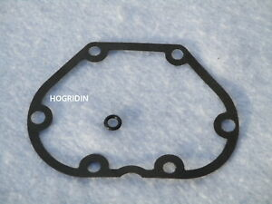 Harley 5 speed transmission tranny side cover gasket touring dyna softail