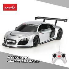 NEW RASTAR 46800 27MHz 1/24 AUDI LMS RC Super Sports Car Simulation Model X3O0