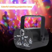 Mini USB LED Laser Projector Bühnenbeleuchtung Xmas Party KTV DJ Disco Licht DE