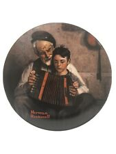 The Music Maker By Norman Rockwell 1981 Limited Edition Knowles Plate