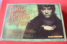 Games Workshop Lord Of The Rings Fellowship of the Ring New in Box Metal Figures