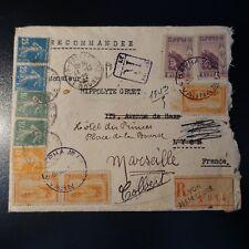 Affrancatura Misto Franco Bulgaro/Semeuse/Lettera Cover Varna 1922