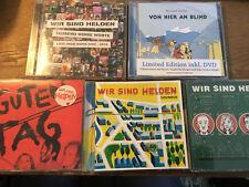 Wir Sind Helden [5 CD] Denkmal + Guten Tag + SoUndSo +Hier an Blind + 1000 Worte