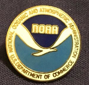 Nice, official NOAA (National Oceanic and Atmospheric Administration) lapel pin