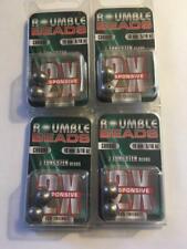 4 New Packs Roumble Beads Fred Roumbanis 10mm 2X 5/16oz Tungsten Bead Bulk 8ct