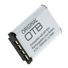 Original OTB Accu Batterij Sony Camcorder HDR-GWP88 - 3.7V 1000mAh Akku Battery