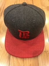 TRUE Clothing Snake Red 9Fifty New Era Strap Back Cap Hat NEW