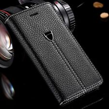 Luxury Case Cover For Apple iphone 5 se 5s  magnetic Flip Leather Wallet  phone