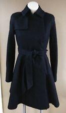 TED BAKER Black Wool Coat Size (1 US 4)