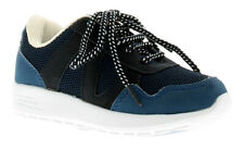 Chatterbox Noise Boys Kids Trainers Navy UK Size