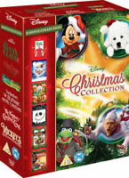 DISNEY CHRISTMAS MOVIE COLLECTION DVD THE SANTA CLAUSE A CHRISTMAS CAROL & MORE